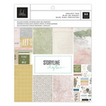 Heidi Swapp - Storyline Chapters Collection - 7.5 x 9.5 Project Pad - The Journaler