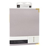 Heidi Swapp - Storyline Chapters Collection - 8 x 10 Album - Gray