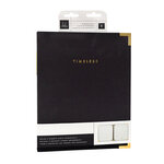 Heidi Swapp - Storyline Chapters Collection - 8 x 10 Album - Black with Foil Accents