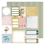 Heidi Swapp - Storyline Chapters Collection - 12 x 12 Double Sided Paper - Everyday