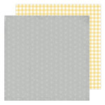 Heidi Swapp - Storyline Chapters Collection - 12 x 12 Double Sided Paper - Mellow Yellow