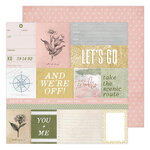 Heidi Swapp - Storyline Chapters Collection - 12 x 12 Double Sided Paper - Weekender