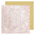 Heidi Swapp - Storyline Chapters Collection - 12 x 12 Double Sided Paper - Lost