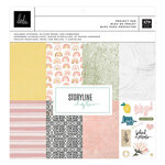 Heidi Swapp - Storyline Chapters Collection - 12 x 12 Project Pad