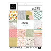 Heidi Swapp - Storyline Chapters Collection - 6 x 8 Paper Pad