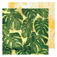 Heidi Swapp - Art Walk Collection - 12 x 12 Double Sided Paper - Tropics