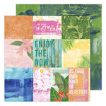 Heidi Swapp - Art Walk Collection - 12 x 12 Double Sided Paper - Story Art