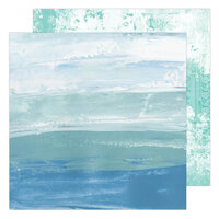 Heidi Swapp - Art Walk Collection - 12 x 12 Double Sided Paper - Sea to Sky