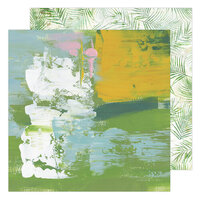 Heidi Swapp - Art Walk Collection - 12 x 12 Double Sided Paper - Locals Only
