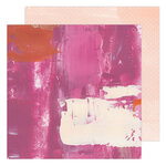 Heidi Swapp - Art Walk Collection - 12 x 12 Double Sided Paper - Pinks