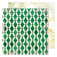 Heidi Swapp - Art Walk Collection - 12 x 12 Double Sided Paper - Casita