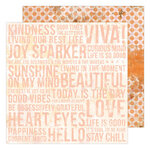 Heidi Swapp - Art Walk Collection - 12 x 12 Double Sided Paper - Artsy