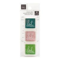 Heidi Swapp - Art Walk Collection - Mini Chalk Ink Stamp Pads