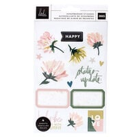 Heidi Swapp - Storyline Chapters Collection - Mini Sticker Book - The Scrapbooker with Foil Accents