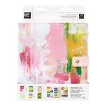 Heidi Swapp - Art Walk Collection - 8 x 10 Planner - Undated