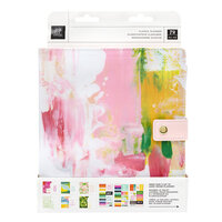 Heidi Swapp - Art Walk Collection - 8 x 10 Planner - Undated