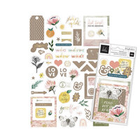 Heidi Swapp - Storyline Chapters Collection - Ephemera with Foil Accents