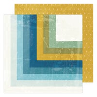 Heidi Swapp - Old School Collection - 12 x 12 Double Sided Paper - Summerland