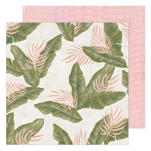 Heidi Swapp - Old School Collection - 12 x 12 Double Sided Paper - Urban Jungle