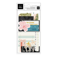 Heidi Swapp - Old School Collection - Ephemera - Vellum with Foil Accents