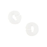 Heidi Swapp - Memorydex - Silicone Stoppers - Clear - 2 Piece