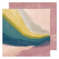 Heidi Swapp - Care Free Collection - 12 x 12 Double Sided Paper - Vista