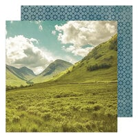 Heidi Swapp - Care Free Collection - 12 x 12 Double Sided Paper - Outdoorsy