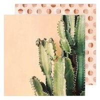 Heidi Swapp - Care Free Collection - 12 x 12 Double Sided Paper - Sedona