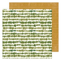 Heidi Swapp - Care Free Collection - 12 x 12 Double Sided Paper - Sandstone