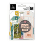 Heidi Swapp - Care Free Collection - Embellishments - Tag Set