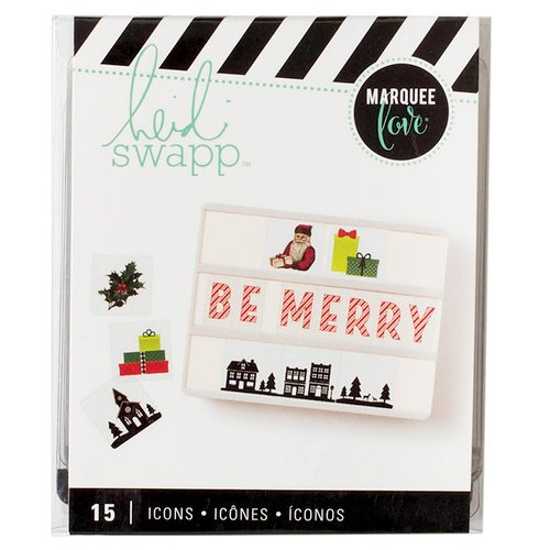 Heidi Swapp - LightBox Collection - Icon Inserts - Christmas