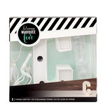 Heidi Swapp - Marquee Love Collection - Marquee Kit - 4 Inches - Letter C