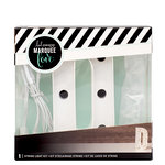 Heidi Swapp - Marquee Love Collection - Marquee Kit - 4 Inches - Letter D
