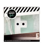 Heidi Swapp - Marquee Love Collection - Marquee Kit - 4 Inches - Letter E