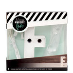 Heidi Swapp - Marquee Love Collection - Marquee Kit - 4 Inches - Letter F