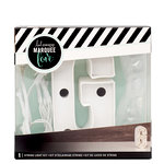 Heidi Swapp - Marquee Love Collection - Marquee Kit - 4 Inches - Letter G