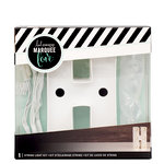 Heidi Swapp - Marquee Love Collection - Marquee Kit - 4 Inches - Letter H