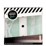 Heidi Swapp - Marquee Love Collection - Marquee Kit - 4 Inches - Letter I
