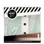 Heidi Swapp - Marquee Love Collection - Marquee Kit - 4 Inches - Letter J