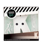 Heidi Swapp - Marquee Love Collection - Marquee Kit - 4 Inches - Letter K
