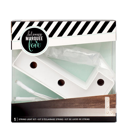 Heidi Swapp - Marquee Love Collection - Marquee Kit - 4 Inches - Letter L