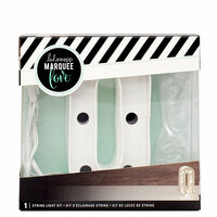 Heidi Swapp - Marquee Love Collection - Marquee Kit - 4 Inches - Letter Q