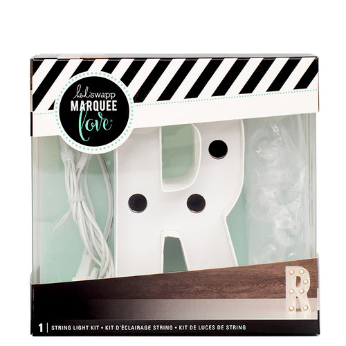 Heidi Swapp - Marquee Love Collection - Marquee Kit - 4 Inches - Letter R