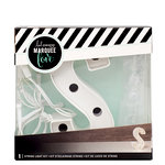 Heidi Swapp - Marquee Love Collection - Marquee Kit - 4 Inches - Letter S