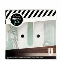 Heidi Swapp - Marquee Love Collection - Marquee Kit - 4 Inches - Letter U