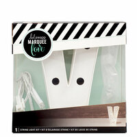 Heidi Swapp - Marquee Love Collection - Marquee Kit - 4 Inches - Letter V