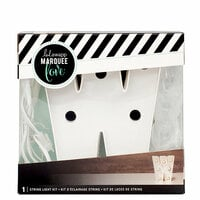 Heidi Swapp - Marquee Love Collection - Marquee Kit - 4 Inches - Letter W