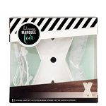Heidi Swapp - Marquee Love Collection - Marquee Kit - 4 Inches - Letter X