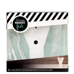 Heidi Swapp - Marquee Love Collection - Marquee Kit - 4 Inches - Letter Y