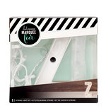 Heidi Swapp - Marquee Love Collection - Marquee Kit - 4 Inches - Letter Z